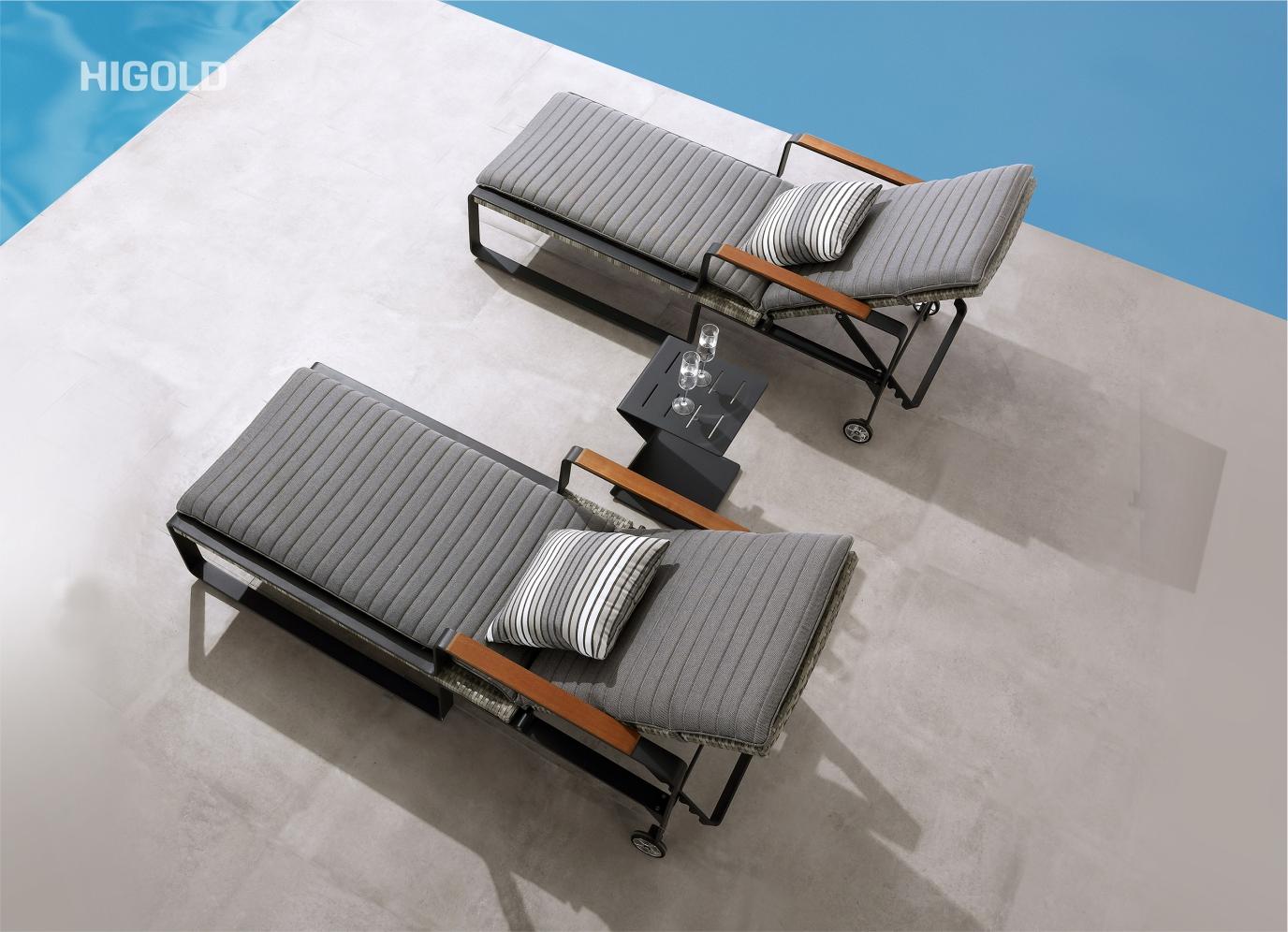 Clark Sun Loungers Set 2041750