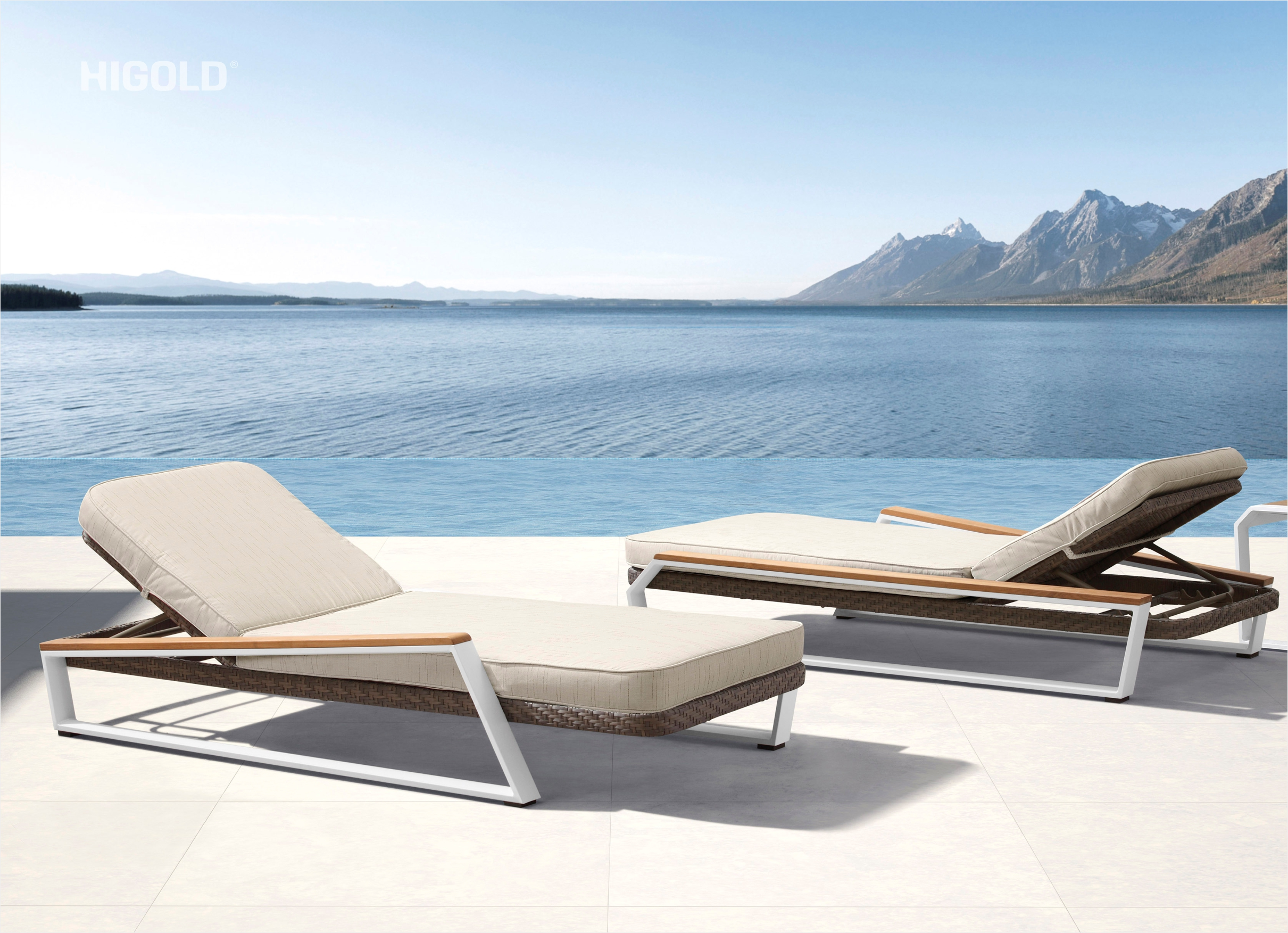 Teakman Chaise Lounger 201851