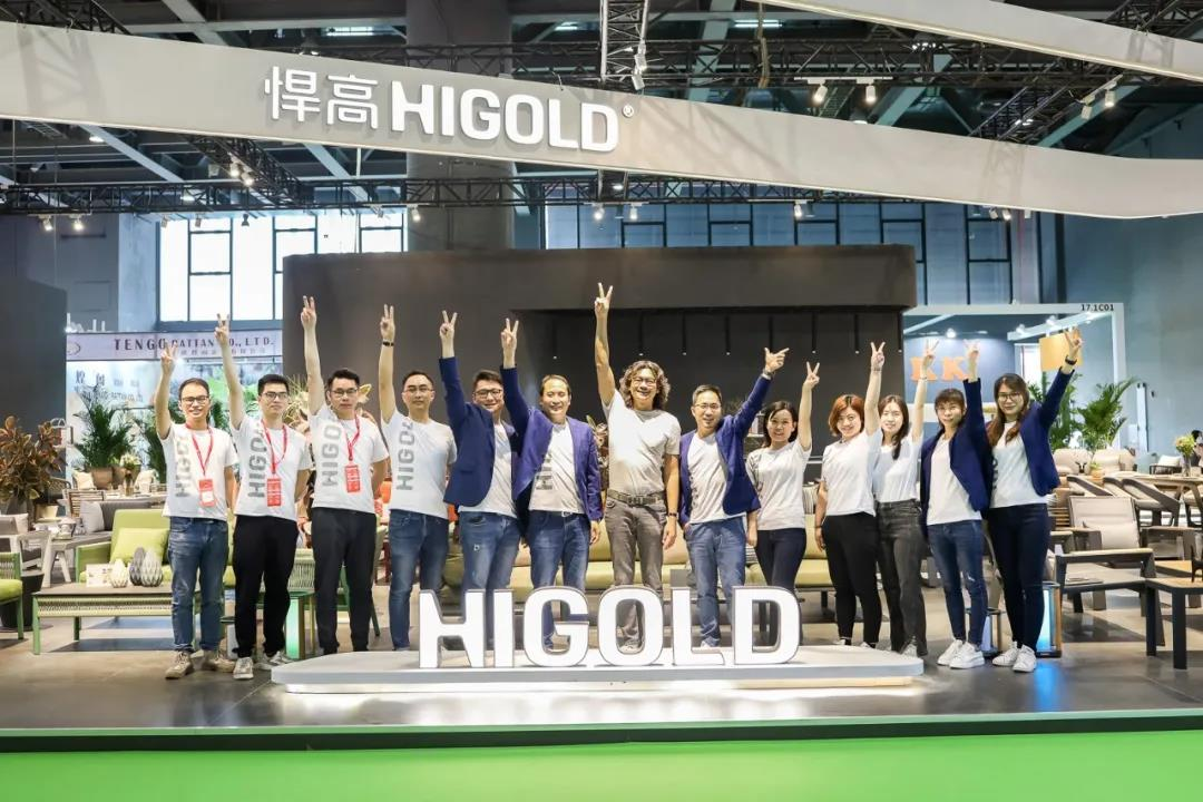 Higold patent designs shine in 2021 Guangzhou CIFF Exhibition