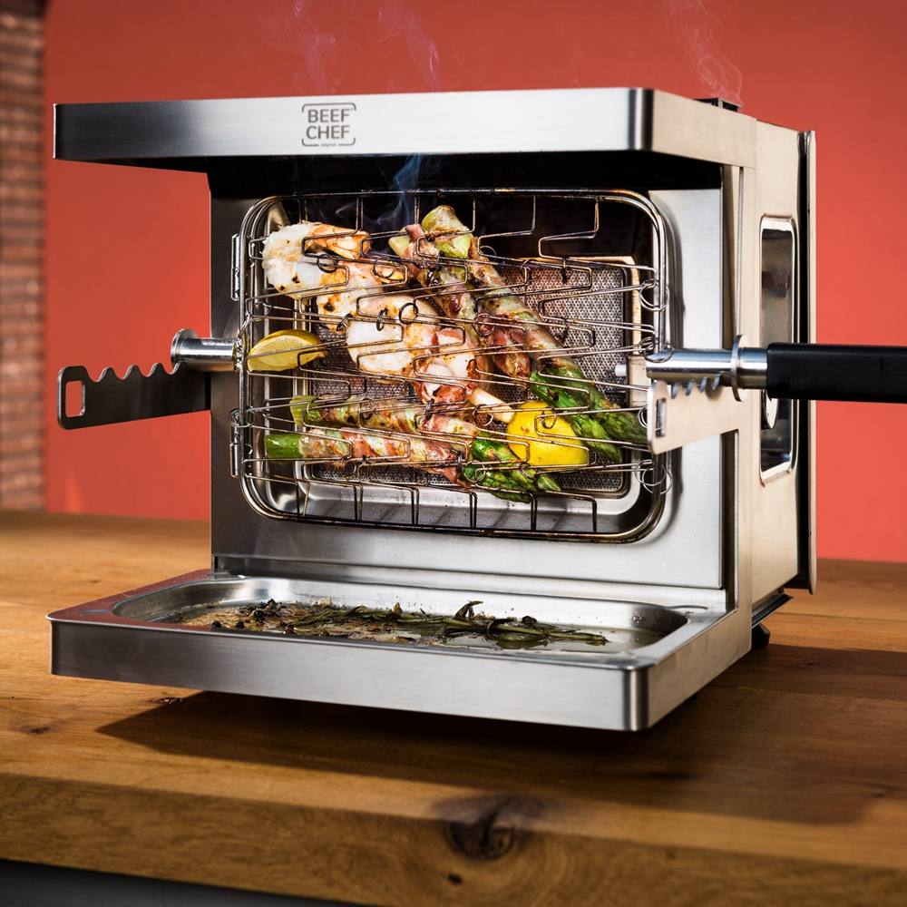 Goldchef Smokeless Gas Grill