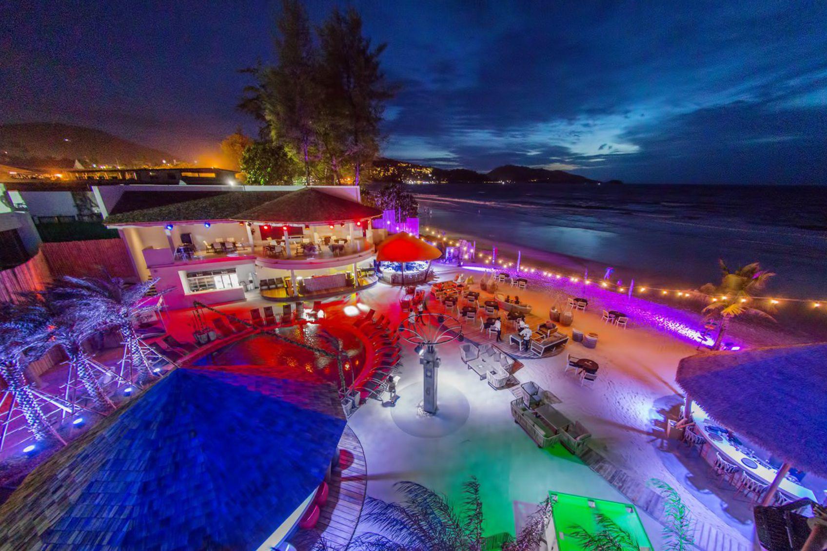 Tailand Kudo beach club Phuket